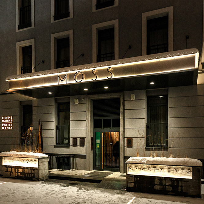 Adwill Architects MOSS BOUTIQUE HOTEL